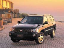 Toyota Kluger V 1 поколение, 11.2000 - 07.2003, Джип/SUV 5 дв.