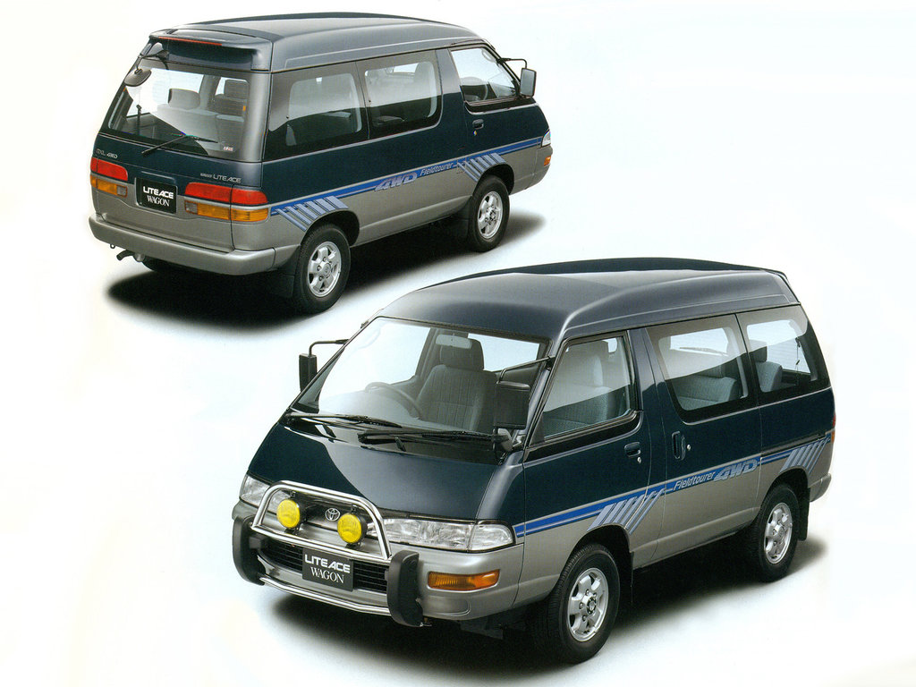Запчасти toyota town ace