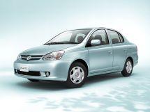 Toyota Platz рестайлинг 2002, седан, 1 поколение, XP10