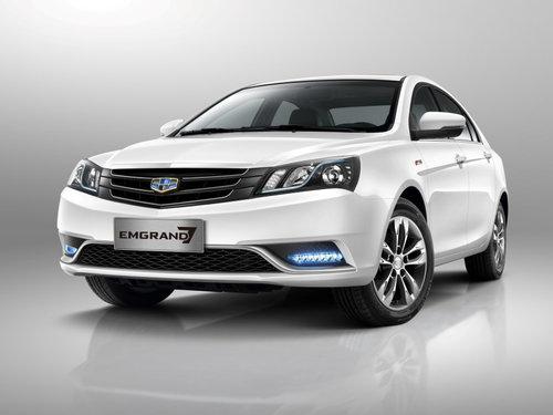 Geely Emgrand EC7 2016 - 2018