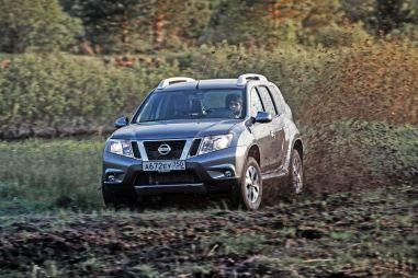 Блиц-тест обновленного Nissan Terrano 2.0AT4WD. Брат2
