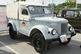 ГАЗ-69 с дизельным двигателем