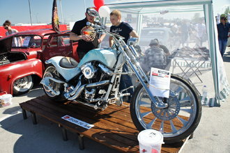 Harley-Davidson Snow storm