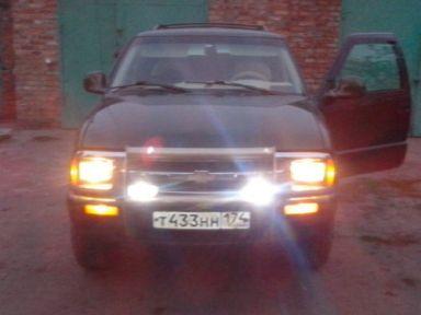Chevrolet Blazer 1996 отзыв автора | Дата публикации 08.04.2016.