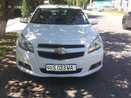 Chevrolet Malibu 2014 - отзыв владельца