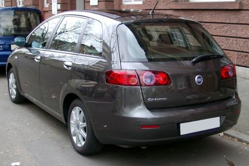 Fiat Croma 2008 - отзыв владельца