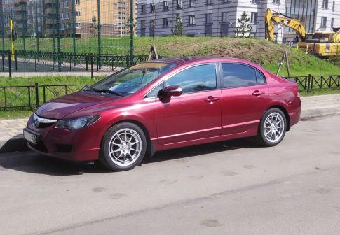 Honda Civic 2011 - отзыв владельца