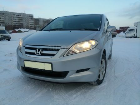 Honda Edix 2006 - отзыв владельца