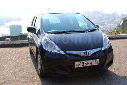 Honda Fit 2012 - отзыв владельца