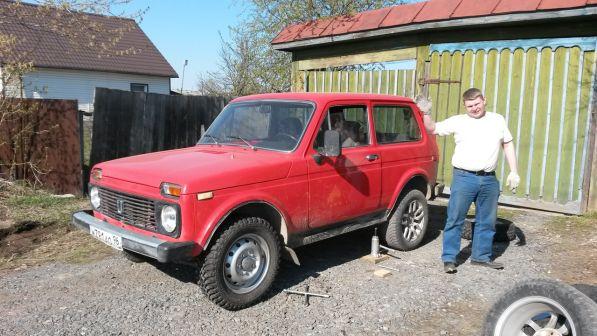 Лада 4x4 2121 Нива 1991 - отзыв владельца