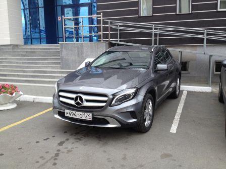 Mercedes-Benz GLA-Class 2014 - отзыв владельца