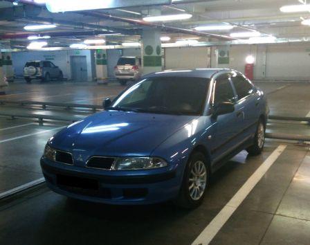 Mitsubishi Carisma 2001 - отзыв владельца