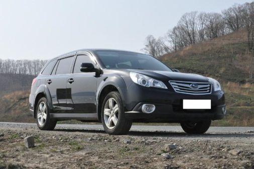Subaru Outback 2010 - отзыв владельца
