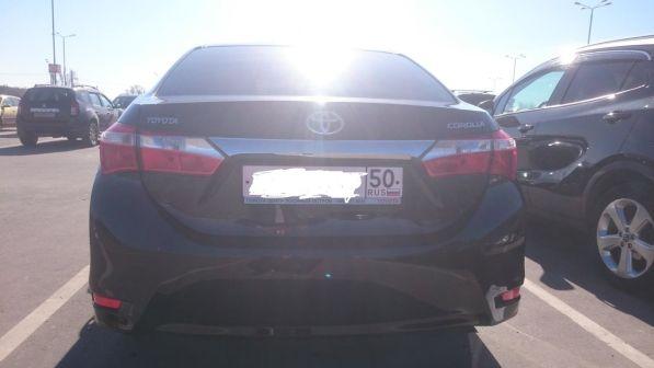 Toyota Corolla 2013 - отзыв владельца