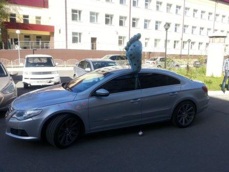 Volkswagen Passat CC 2011 - отзыв владельца