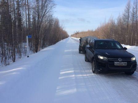 Volkswagen Touareg 2014 - отзыв владельца