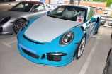 Porsche 911. ГОЛУБОЙ НЕМЕТАЛЛИК_MIAMI BLUE