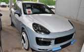 Porsche Cayenne. ICE BLUE_ГОЛУБОЙ МЕТАЛЛИК (МЕГАЭКСКЛЮЗИВ)