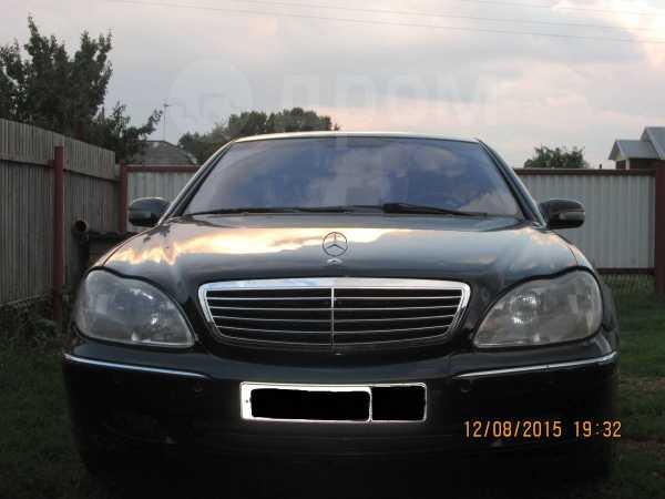Mercedes-Benz S-Class, 2000 год, 440 000 руб.