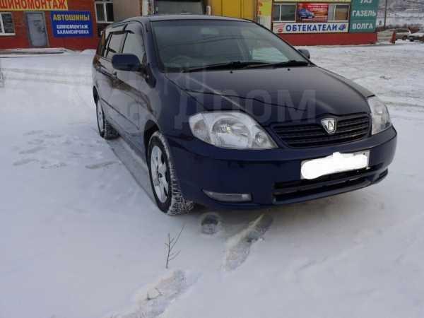 Toyota Corolla Fielder, 2002 год, 351 000 руб.
