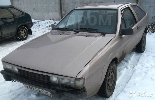 Volkswagen Scirocco, 1984 год, 50 000 руб.