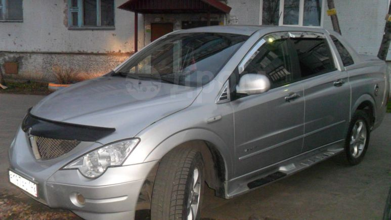 SsangYong Actyon Sports, 2007 год, 400 000 руб.
