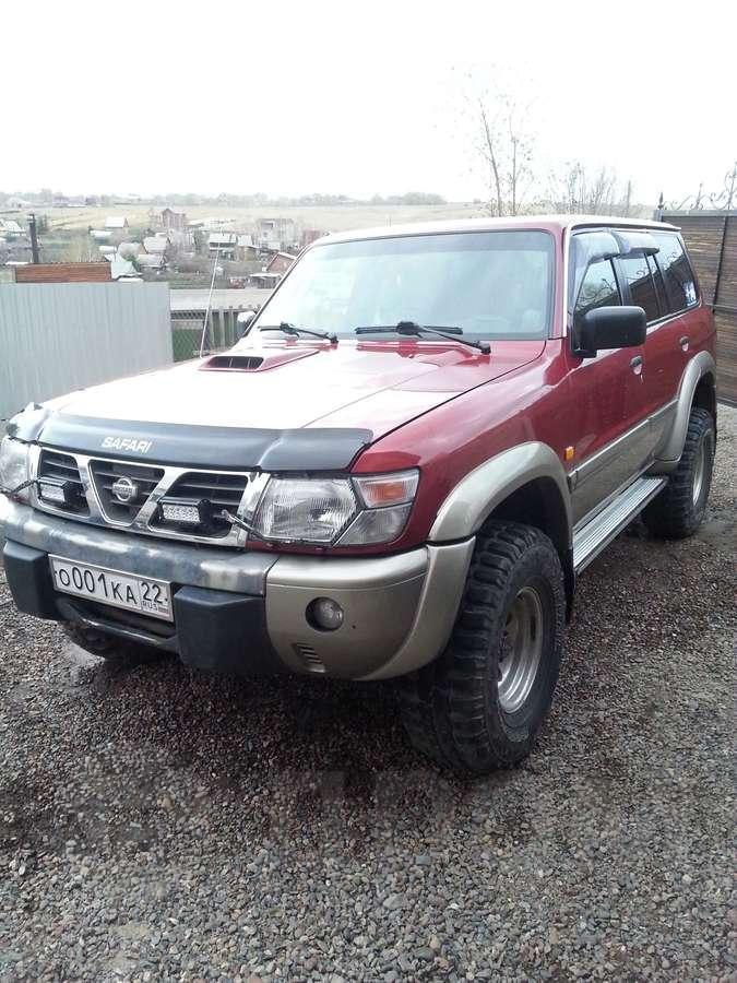 Купить Ниссан Патрол 98 года в Красноярске, Продам nissan patrol ZA12