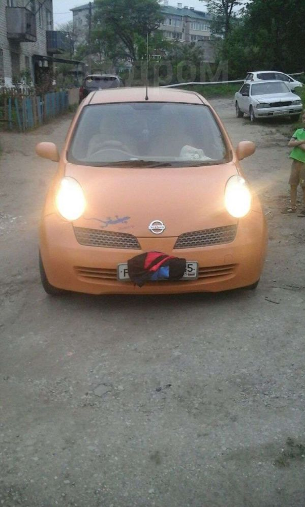 Nissan March, 2002 год, 165 000 руб.