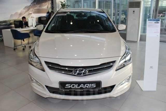 Hyundai Solaris, 2015 год, 575 900 руб.