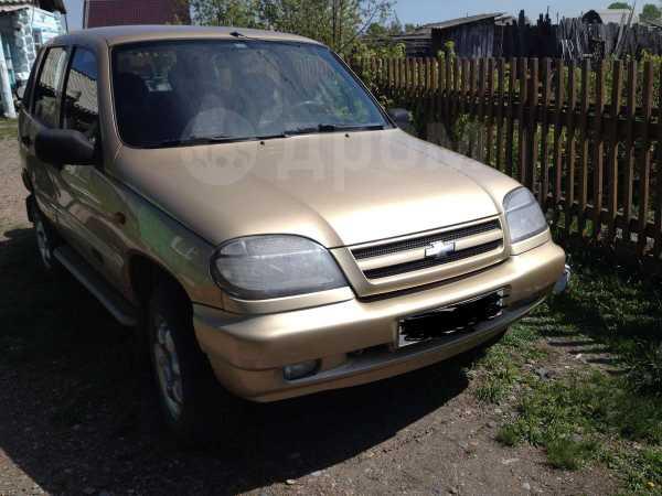 Chevrolet Niva, 2004 год, 300 000 руб.