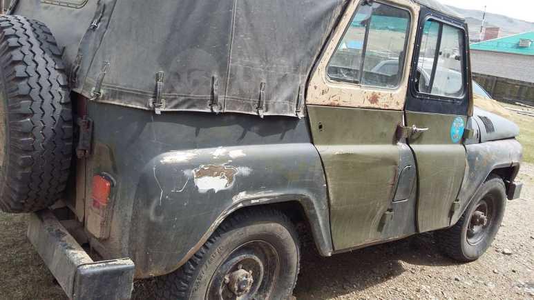 УАЗ 469, 1993 год, 90 000 руб.