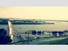 Стригинский (через Оку) (Мост)