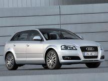 Audi A3 2-й рестайлинг, 2 поколение, 04.2008 - 02.2013, Хэтчбек 5 дв.