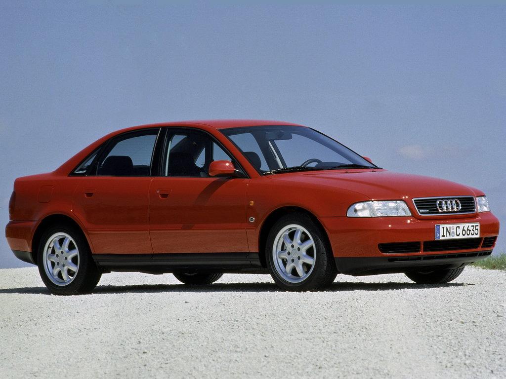 Audi A4 1994 1995 1996 седан 1 поколение B5 технические