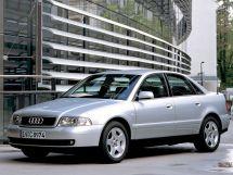 Audi A4 2-й рестайлинг 1999, седан, 1 поколение, B5