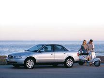 Audi A4 рестайлинг 1996, седан, 1 поколение, B5