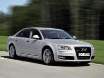 Audi A8 2-й рестайлинг, 2 поколение, 09.2007 - 10.2009, Седан