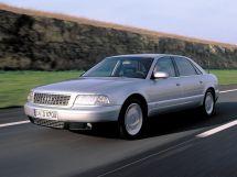 Audi A8 рестайлинг 1999, седан, 1 поколение, D2