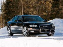 Audi A8 2-й рестайлинг, 2 поколение, 09.2007 - 07.2010, Седан
