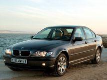 BMW 3-Series рестайлинг, 4 поколение, 09.2001 - 02.2005, Седан