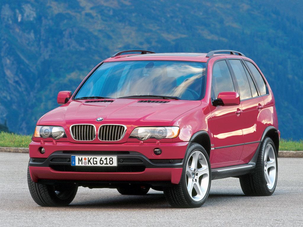 bmw x5 4,4 характеристики 2000г