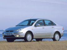 Ford Focus рестайлинг, 1 поколение, 10.2001 - 03.2005, Седан