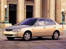 Hyundai Accent 2 поколение, 07.1999 - 08.2012, Седан