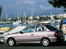 Hyundai Accent 1994, хэтчбек 3 дв., 1 поколение, X3