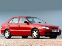 Hyundai Accent рестайлинг 1997, хэтчбек 5 дв., 1 поколение, X3