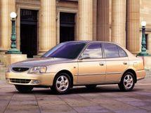 Hyundai Accent 1999, седан, 2 поколение
