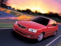 Hyundai Accent 1999, хэтчбек 3 дв., 2 поколение, LC