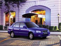 Hyundai Accent 1999, хэтчбек 5 дв., 2 поколение, LC