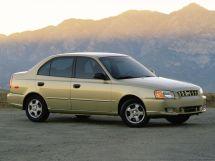 Hyundai Accent 1999, седан, 2 поколение, LC