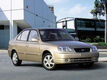 Hyundai Accent рестайлинг, 2 поколение, 04.2003 - 03.2006, Седан